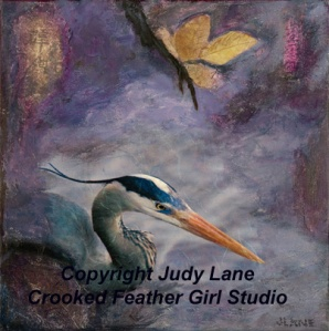Tranquility Web ©2012 Judy Lane / Crooked Feather Girl Studio