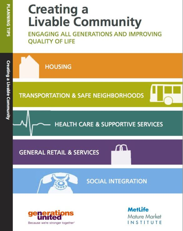 Liveable Community cover
