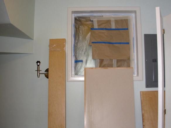 Contractor work begins