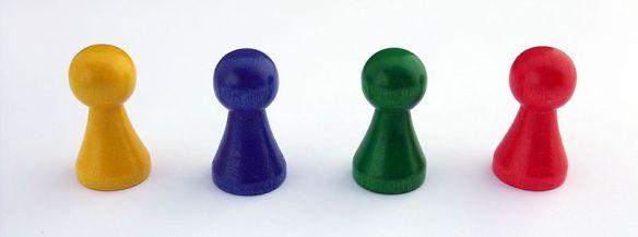 Board Game pieces (via Wikipedia)
