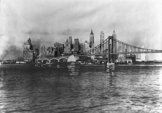 Brooklyn-Battery Bridge ca 1939