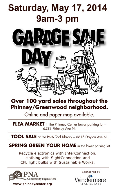 Greenwood Garage Sale Day 2014