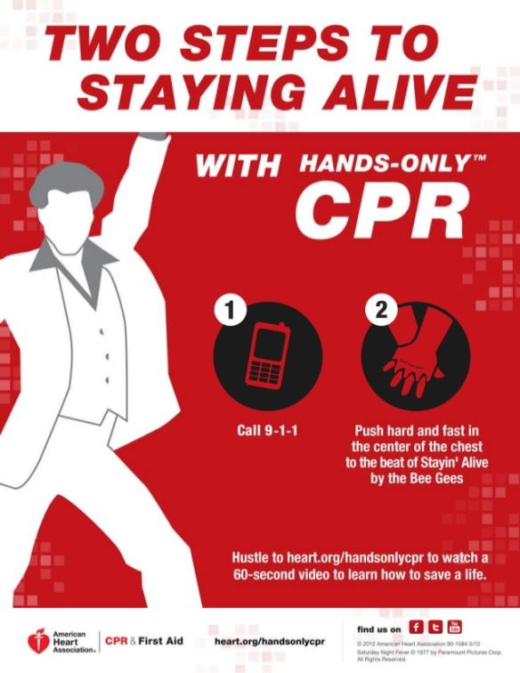 Stayin' Alive: Hands-only CPR