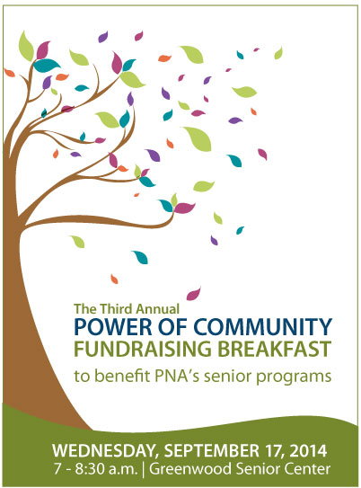 Power of Community Fundraising Breakfast flyer