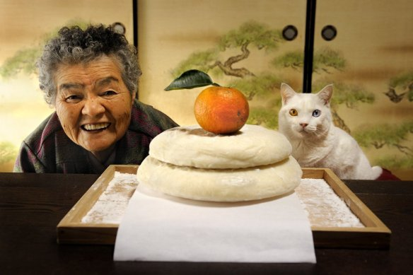 Misao the Big Mama and Fukumaru the Cat | Miyoko Ihara