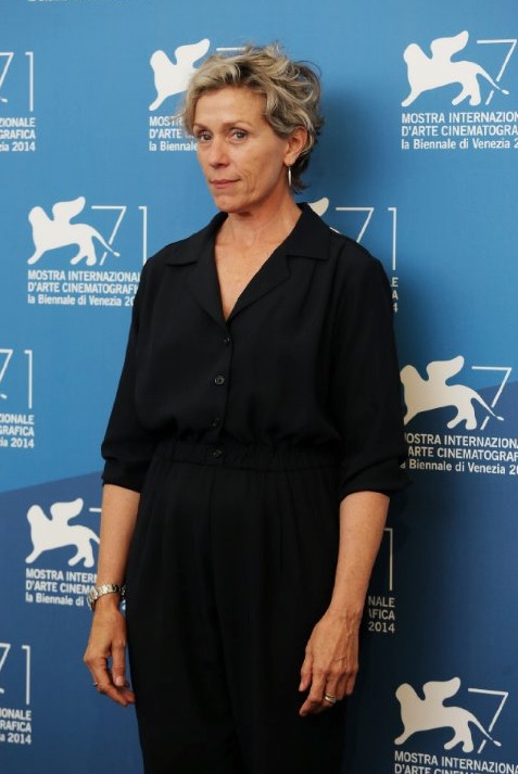 "Photo © 2014 Ernesto Ruscio  - Frances McDormand at ""Olive Kitteridge"" event"