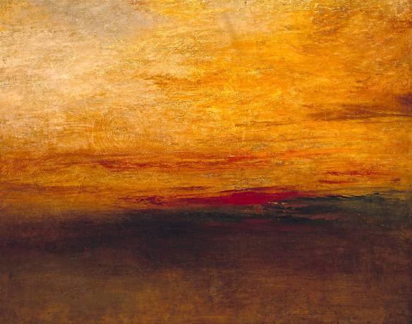 Sunset by JMW Turner (Tate)