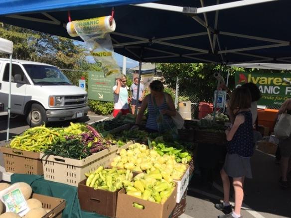 Alvarez Organic stall