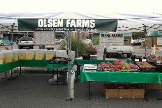 Olsen Farms stand