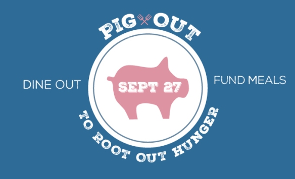 Pig Out to Root Out Hunger